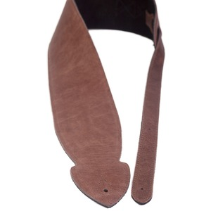 Leather Graft Comfy Softie Extra Wide Guitar Strap - Brown