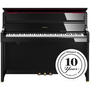 Roland LX17 Digital Piano - Polished Ebony - DISPLAY MODEL