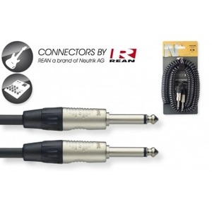 Stagg N-Series Coiled Instrument Cable