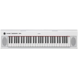 Yamaha NP-12 61-Key Piano Style Keyboard - White