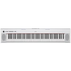 Yamaha NP32 76-key Piano Style Keyboard - White