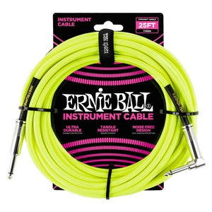 Ernie Ball Instrument Cable J-AJ 25 Foot