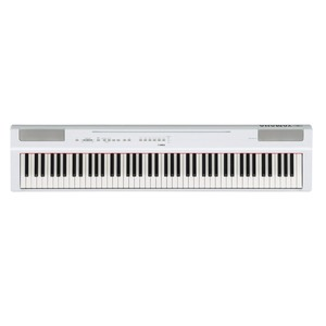 Yamaha P125 Digital Piano - White
