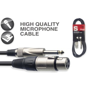 Stagg Mic Cable Female XLR-Jack