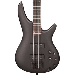 Ibanez SR300E 4 String Active Bass Guitar - Weathered Black