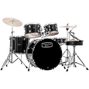 "Mapex Tornado Drum Kit - 20"" American Fusion Short Stack - Black"