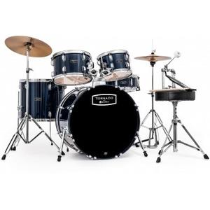 "Mapex Tornado Drum Kit - 20"" American Fusion Short Stack - Royal Blue"