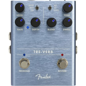 Fender Tre-Verb Tremolo/Reverb Pedal