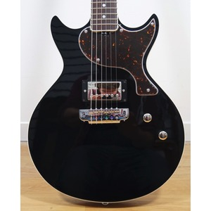 Gordon Smith GS1000 Special Edition Double Cut Electric Guitar - Jet Black inc. Hard Case