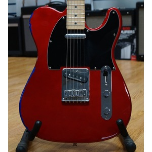 Squier Affinity Telecaster. Red-over-blue, Seymour Duncan Hot Tele bridge pickup