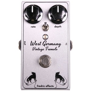 Fredric Effects West Germany Vintage Tremolo Pedal