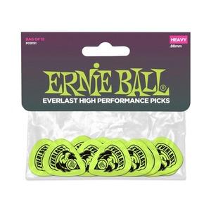 Ernie Ball Everlast Delrin Picks 12 Pack - Green .88mm
