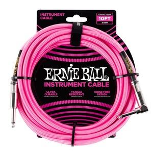 Ernie Ball Instrument Cable Black J-AJ 10 Foot