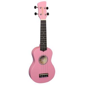 Brunswick Soprano Ukulele - Pink
