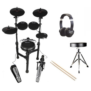 Carlsbro CSD130M Compact Electronic Drum Kit Package