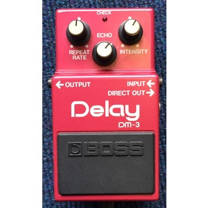 SECONDHAND Boss DM-3 Delay pedal - Made in Japan
