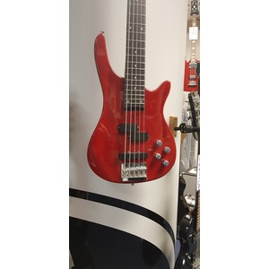 SECONDHAND Gear 4 Music 5 string bass - Red