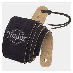 "Taylor Embroidered 2.5"" Suede Strap"