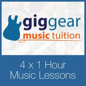 GigGear Music Lessons - 4 x 1 Hour