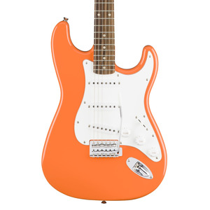 Squier Affinity Stratocaster Electric Guitar - Laurel Fingerboard - Competition Orange