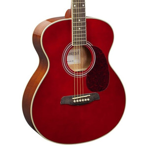 Brunswick BF200 Acoustic Guitar - Red