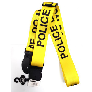 Leather Graft Graphic Series Strap - Police Do Not Cross