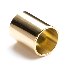 Jim Dunlop Brass Guitar Slide - Medium Wall Medium Size Knuckle