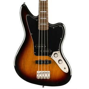 "Limited Run Squier Classic Vibe Jaguar Bass 34"" scale - 3 Colour Sunburst"