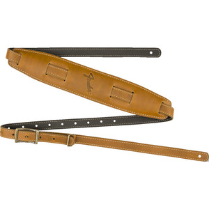 Fender Mustang Saddle Guitar Strap  - Butterscotch