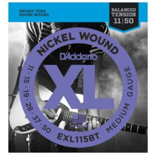 D'addario EXL115BT Electric Balanced Tension Reg Light 11-50