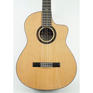 Faith Lyra Nylon String HiGloss Cutaway Classical Guitar Inc. GigBag