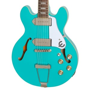 Epiphone Casino Coupe Semi-Acoustic Guitar - Turquoise