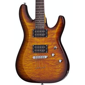 Schecter C6 Plus Electric Guitar - Vintage Sunburst