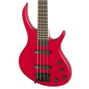 Tobias Toby Deluxe IV Bass Guitar - Trans Red