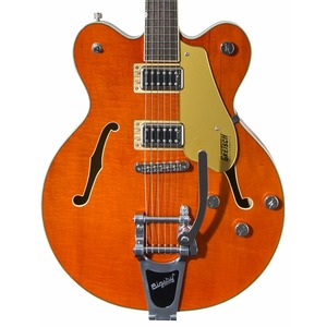 Gretsch Electromatic G5622T Double Cut Centre Block with Bigsby - Orange Stain