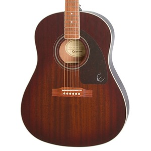Epiphone AJ-220S Solid Top Acoustic Guitar - Mahogany Burst