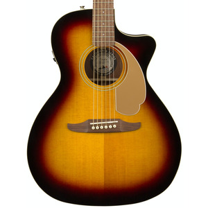 Fender Newporter Player Electro Acoustic Guitar - Sunburst