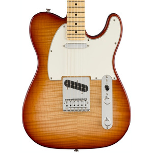 Fender Limited Edition Player Telecaster Plus Top - Sienna Sunburst / Maple
