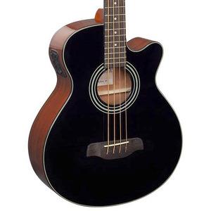 Brunswick TBJBA Electro Acoustic Bass - Black