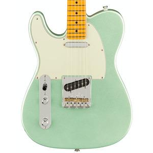 Fender American Professional II Telecaster LEFT HANDED - Mystic Surf Green / Maple