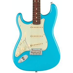Fender American Pro II Stratocaster LEFT HANDED  - Miami Blue / Rosewood