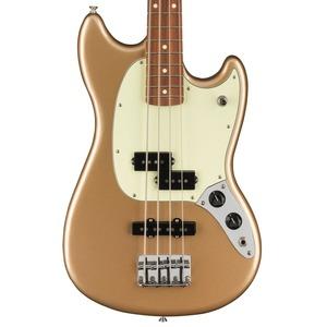 Fender Mustang PJ Bass - Firemist Gold / Pau Ferro