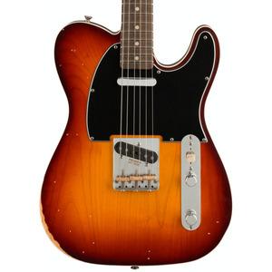 Fender Jason Isbell Custom Telecaster - 3-Colour Chocolate Burst / Road Worn