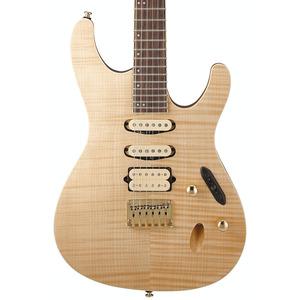 Ibanez SEW761FM Electric Guitar - Natural Flat