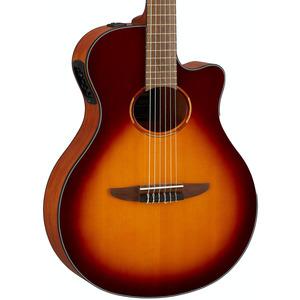 Yamaha NTX1 Electro Nylon Guitar  - Brown Sunburst