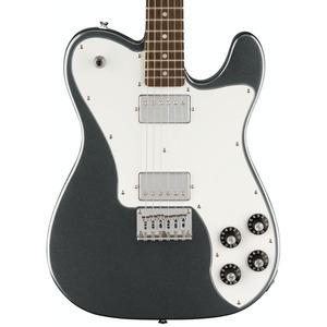 Squier Affinity Telecaster Deluxe Electric Guitar - Charcoal Frost Metallic / Laurel