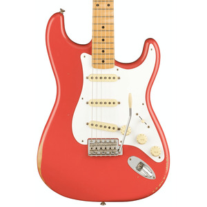Fender Limited Edition Road Worn Vintera '50s Strat - Fiesta Red