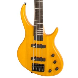 Tobias Toby Deluxe IV Bass Guitar - Trans Amber