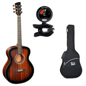 Brunswick BF200 Acoustic Guitar Package with Bag & Tuner