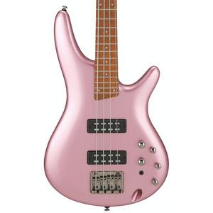 Ibanez SR300E 4 String Active Bass Guitar - Pink Gold Metallic